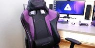 sillas gamer moradas