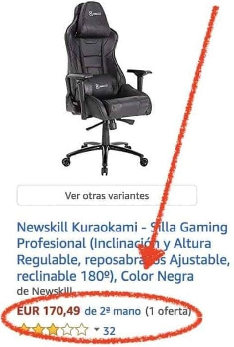 sillas gamer newskill