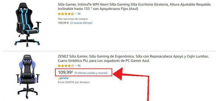 Silla Gamer Black Friday Oferta de segunda mano