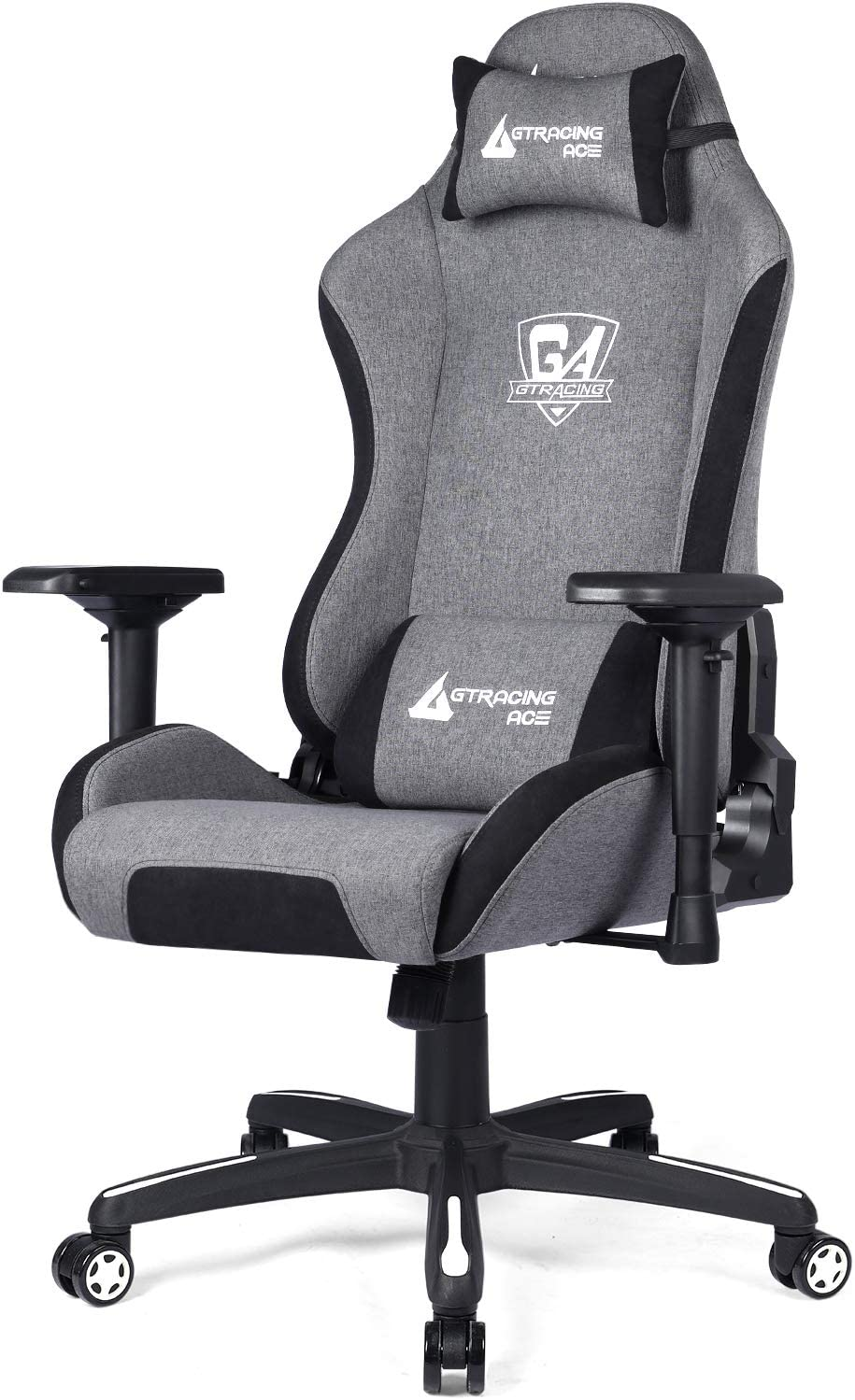silla gamer gtracing ace gris